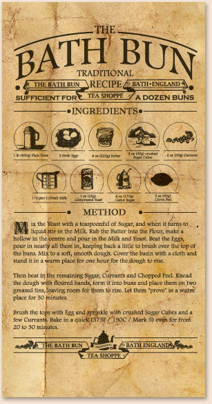 Traditional Bath Bun recipe